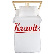 Kravitz, Vintage Red Twin Duvet