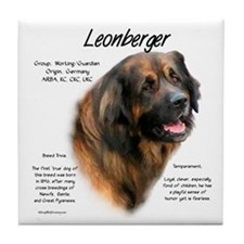 Leonberger Tile Coaster