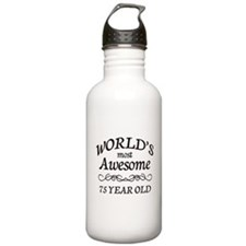 Awesome Birthday Sports Water Bottle