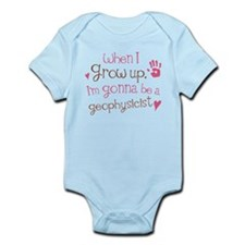 Kids Future Geophysicist Infant Bodysuit