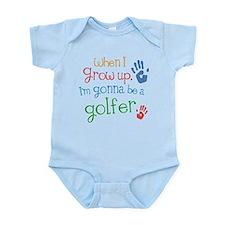 Kids Future Golfer Infant Bodysuit