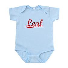 Leal, Vintage Red Infant Bodysuit