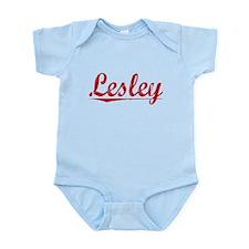 Lesley, Vintage Red Infant Bodysuit