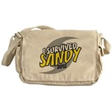 I Survived SANDY Messenger Bag