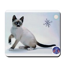 Snowshoe Cats Mousepad