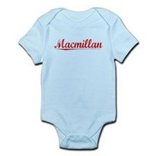 Macmillan, Vintage Red Infant Bodysuit