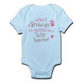 Future Latin Teacher Infant Bodysuit