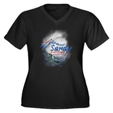 Hurricane Sandy Survivor: Women's Plus Size V-Neck