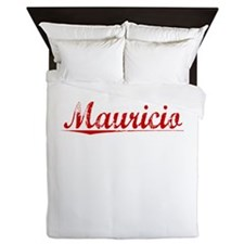 Mauricio, Vintage Red Queen Duvet