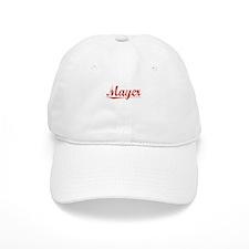 Mayer, Vintage Red Baseball Cap