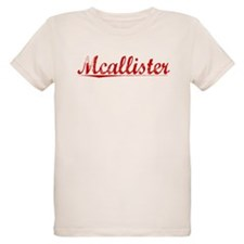 Mcallister, Vintage Red T-Shirt