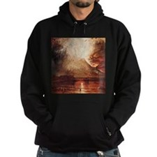Mount Vesuvius in Eruption by Turner Hoodie