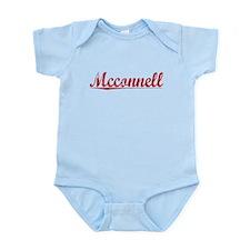 Mcconnell, Vintage Red Infant Bodysuit