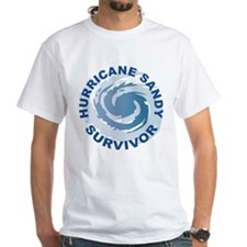 Hurricane Sandy Survivor 2012 Shirt