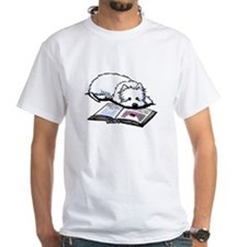 Book Lover Wendell Westie Shirt