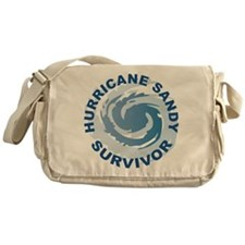 Hurricane Sandy Survivor 2012 Messenger Bag