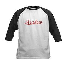 Meadow, Vintage Red Tee