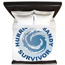 Hurricane Sandy Survivor 2012 King Duvet