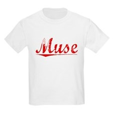 Muse, Vintage Red T-Shirt