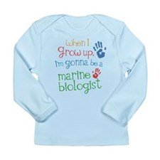 Future Marine Biologist Long Sleeve Infant T-Shirt