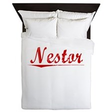 Nestor, Vintage Red Queen Duvet