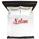 Nolan, Vintage Red King Duvet