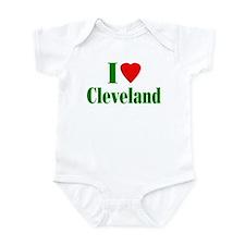 I Love Cleveland Infant Creeper