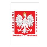 WB Polish Crest Postcards (Package of 8)