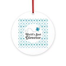 Director (Worlds Best) Ornament (Round)