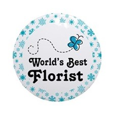 Florist (Worlds Best) Ornament (Round)
