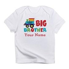 Big Brother Train Personalized Infant T-Shirt
