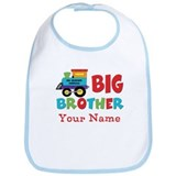 Big Brother Train Personalized Bib