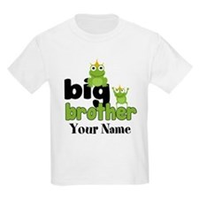 Big Brother Frogs Personalized T-Shirt