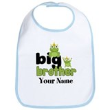 Big Brother Frogs Personalized Bib