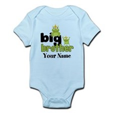 Big Brother Frogs Personalized Infant Bodysuit