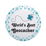 Geocacher (Worlds Best) Ornament Ornament (Round)