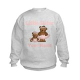Little Sister Ballet Personalized Sweatshirt