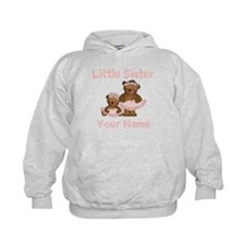 Little Sister Ballet Personalized Hoodie