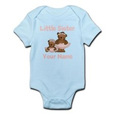 Little Sister Ballet Personalized Infant Bodysuit