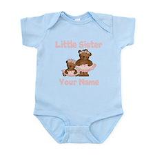 Little Sister Ballet Personalized Infant Bodysuit