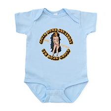 AAC - 436BS - 7BG - Home Stretch Infant Bodysuit