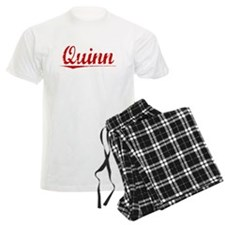 Quinn, Vintage Red Pajamas
