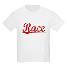 Race, Vintage Red T-Shirt