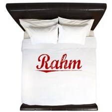 Rahm, Vintage Red King Duvet