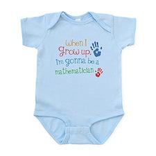 Kids Future Mathematician Infant Bodysuit