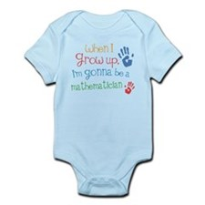 Kids Future Mathematician Onesie