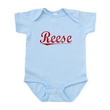 Reese, Vintage Red Infant Bodysuit