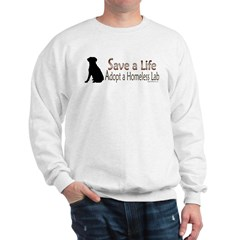 Adopt Homeless Lab Sweatshirt