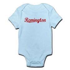 Remington, Vintage Red Infant Bodysuit