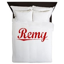 Remy, Vintage Red Queen Duvet